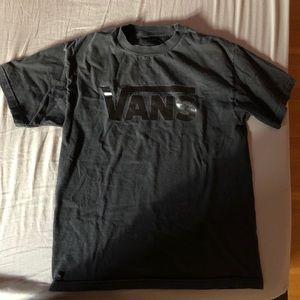 Black men's vans shirt